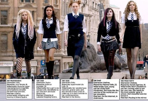 St Trinians Cast by emilyrutherford
