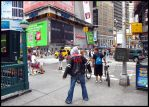 Prototype Cosplay: Times Square by Ferriman