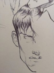 A LITTLE DYLAN DOG SKETCH by AgostinoF