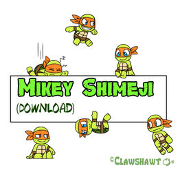 Mikey Shimeji (Download!) by Clawshawt