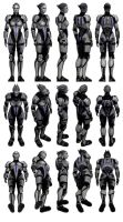 Mass Effect 3, MP Asari Justicar Ref. by Troodon80