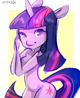 Twilight Sparkle by Moxaji