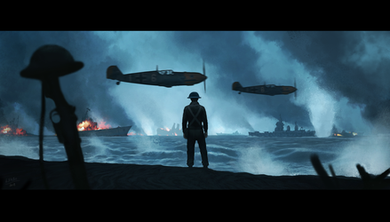 You can't escape - Dunkirk by Gabrix89