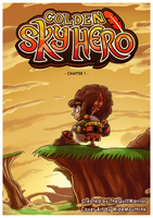 Golden Sky Hero ~ Chapter 1 Cover by The-Quill-Warrior