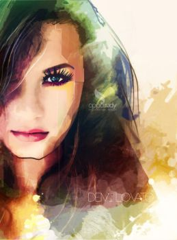 demi Lavato by opparudy