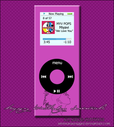 Miyavi iPod for V. by sinthiavalesquez