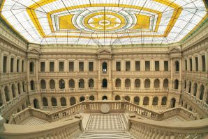 fisheye: PW-Main Building I by senner