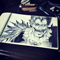 Ryuk ~Death Note~ by DexadiDraw