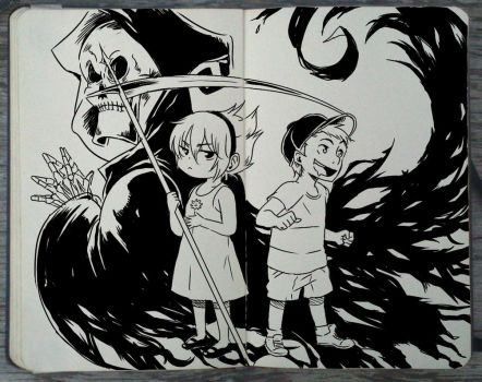 #205 The Grim Adventures of Billy and Mandy by Picolo-kun