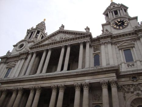 St. Paul's Cathedral 1 by TigerQueen-Sangha