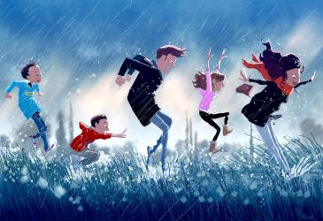 It s pouriiiiiing, it s rainiiiiing.. by PascalCampion