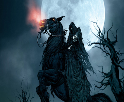 Grim Reaper Full Moon by myjvs007