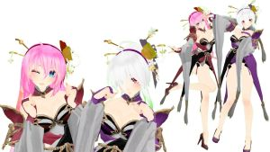 Boyeonsa Haku And Luka Model DL by Cindykang