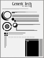 Generic Tech Brushes by Zell by Zell-911