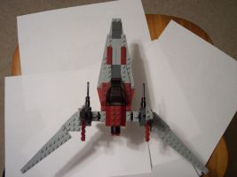 Lego ARwing replacement by samuswolf407