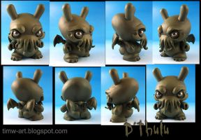 D'thulu, the Destroyer custom dunny by Timbone