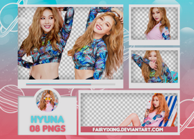 [PNG PACK #589] HyunA by fairyixing