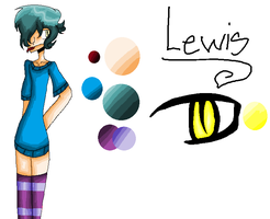 Lewis :REF: by Bonnieart04