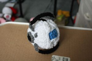 wheatley plushie by keyismykitty