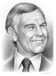 Johnny Carson - Sketch of the Day by gregchapin