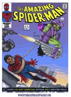 Troy Barnes is Spider-Man: How to defeat a Troll by BRENDANSULEIMAN