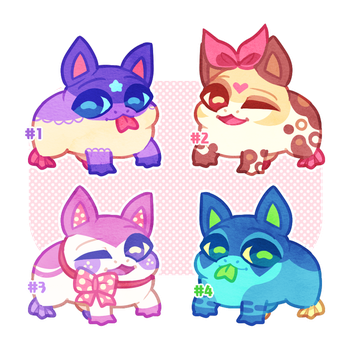 (RAFFLE + AUCTION) Drogs Adopts - Open by scarletscreations