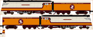 Milwaukee Road A Class Sprite by Diamond-Jubilee