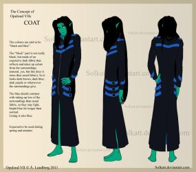 the Concept of Opalond VII - Coat by Solkatt