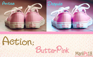 Action ButterPink by MariiPs18