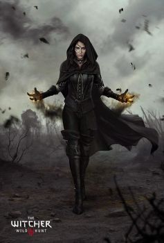 Witcher 3: The Wild Hunt Yennefer by Marmad