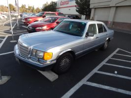 1991 Mercedes-Benz 300SE (W126) by CadillacBrony