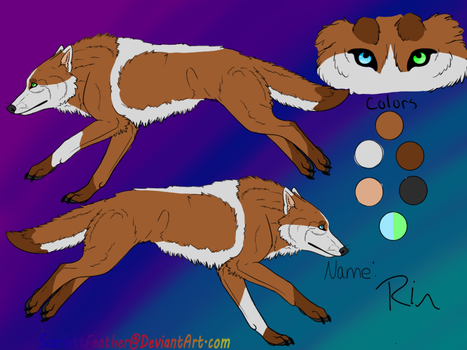 Rins Refrence sheet by LittleRinnyKagamine