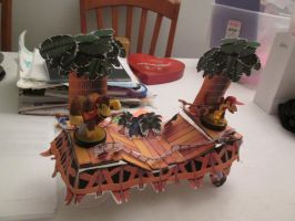 Amiibo Stand Stages - Congo Jungle by videogameking613