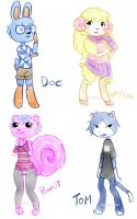 Animal Crossers by Bon-Bon-Bunny