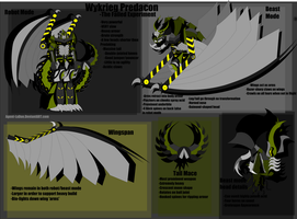 Predacon OC Wykrieg reference *SLIGHT UPDATE* by Captain-LaDue