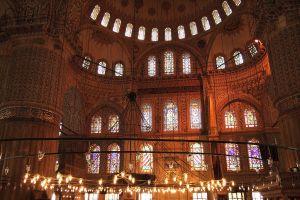 Sultan Ahmed Mosque interior by ionut68
