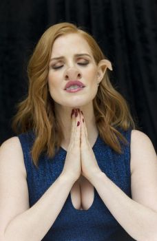 Jessica Chastain  by oneeyedollar
