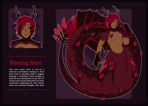 05 Bleeding heart [CLOSED] by xCastra