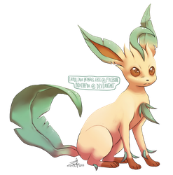 Leafeon by mother-child