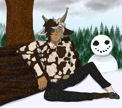 [T-I] The Lazy Woodcutter by Sahara-Fang