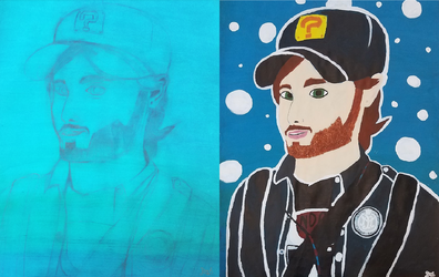 Vinny from Vinesauce by Dragon-Island