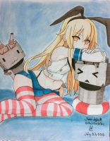 Shimakaze - Kantai collection - completed by Di5a5terp13ce