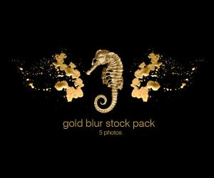 Gold blur stock pack by stuff-stock