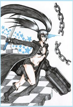 BlackRockShooter II by CrimsonStigmata2501