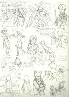 YC-Misunderstanding:sketches by InYuJi