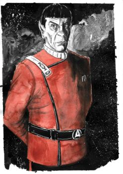Weekly Sketches: Spock by Kmadden2004