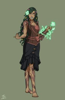 Echo the Dryad (Neolympus) commission by phil-cho