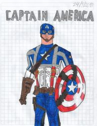Captain America from The First Avenger (2011) by matiriani28