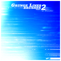 Grunge Lines Brushes Part.2 by DieheArt
