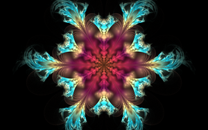 colourful snowflake by Andrea1981G